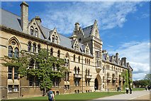 SP5105 : The Meadow Building, Christ Church College by Des Blenkinsopp