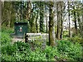 SH7557 : Compost bins and composting toilet, Ty Hyll by Christine Johnstone