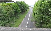 J1811 : The R173 north of the Castle Hill Bridge by Eric Jones