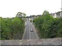 J1811 : The R173 south of Castle Hill Bridge, Carlingford by Eric Jones