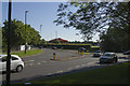SP2976 : Traffic Island at the end of Westwood Way by Malcolm Neal