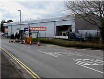 ST3037 : UK Storage Company in Bridgwater by Jaggery