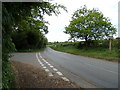 TM3669 : A1120 Yoxford Road, Sibton by Adrian Cable
