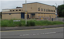 SS9079 : Former Bridgend Magistrates' Court by Jaggery