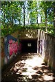 TL4707 : Underpass to Harlow Park by Glyn Baker