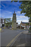 SP2871 : Kenilworth Clock Tower by Malcolm Neal