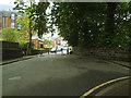 SE2736 : Traffic barrier, Wood Lane, Headingley by Stephen Craven