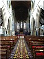 SO5865 : Interior of St Michaels church by Philip Halling