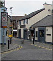 SS9079 : Queen Street pedestrian zone in Bridgend town centre by Jaggery