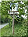 TM3669 : Sibton Village sign by Adrian Cable