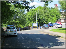 SE1039 : Queen Street in Bingley, West Yorkshire by Peter Wood