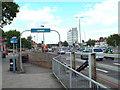 TQ4488 : Subway ramp, Newbury Park by Malc McDonald