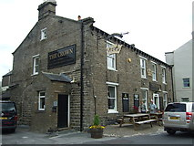 SD8789 : The Crown Hotel, Hawes by JThomas