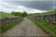 SD8172 : Pennine Way on Horton Scar Lane by DS Pugh