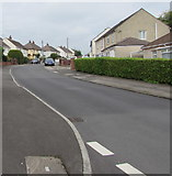 ST2896 : Up Clark Avenue, Cwmbran by Jaggery