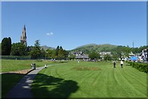 NY3704 : Park in Ambleside by DS Pugh