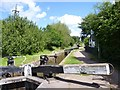 SO9868 : Tardebigge Lock No 53, Worcestershire with cottage by Jeff Gogarty
