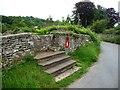 SO3227 : Steps and stone stile into the churchyard, Clodock by Christine Johnstone