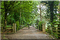 TQ4263 : Driveway to Holwood House by Ian Capper