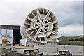 TR1836 : Channel Tunnel Exhibition Centre, Folkestone 1992: a Tunnel Boring Machine by Ben Brooksbank
