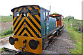 SW6430 : Ruston & Hornsby diesel locomotive - Helston Railway by Chris Allen