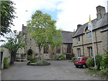 TQ2075 : St Mary Magdalen R.C. Church, Mortlake: late May 2017 by Basher Eyre