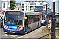 TQ1502 : Stagecoach buses at Worthing by Stephen McKay