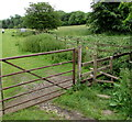 ST9897 : Wysis Way gate and stile access near Kemble by Jaggery