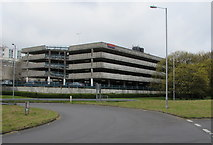ST2995 : Multistorey car park, Cwmbran by Jaggery