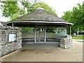 SE0063 : Shelter at Grassington car park by Oliver Dixon