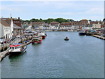 SY6778 : The Old Harbour, Weymouth by David Dixon