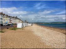 SY6879 : Greenhill Beach, Weymouth by David Dixon