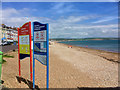SY6879 : Weymouth, Greenhill Beach by David Dixon