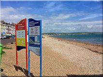 SY6879 : Weymouth, Greenhill Beach by David Dixon