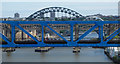 NZ2463 : Tyne bridges by Thomas Nugent