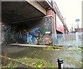SJ8497 : Street Art on Cotswold Street by Gerald England