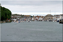 SY6878 : Weymouth Harbour by David Dixon