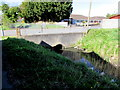 ST3486 : Fosse Road bridge over a reen, Liswerry, Newport by Jaggery