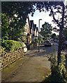 SK5837 : West Bridgford: evening light, Edward Road by John Sutton