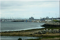 SY6774 : Portland Harbour Marina and National Sailing Academy by David Dixon