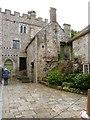 SY2597 : Corner of courtyard within Shute Barton medieval manor by Derek Voller