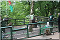 SO1705 : Display area, Owl Sanctuary Festival Park by M J Roscoe