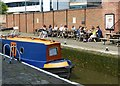 SK5739 : Summer in the City – Castle Lock by Alan Murray-Rust