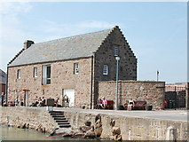 NO8785 : The Tolbooth, Stonehaven harbour by Bill Harrison