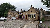 SE1039 : Bingley station, frontage by Stephen Craven