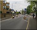 TQ1868 : Surbiton Crescent by Hugh Venables