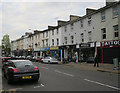 TQ1868 : Shops on Surbiton Road by Hugh Venables