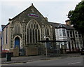 ST1874 : North side of the Salvation Army church, Grangetown, Cardiff by Jaggery