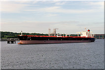 NT1580 : Tanker at Hound point by David Dixon