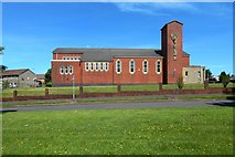NS4761 : St Peter's Roman Catholic Church by Lairich Rig